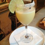 Rum Cocktail - 3 types rum, pineapple juice, lemon sorbet - could drink this from a jug it's so