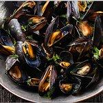 Bar-A-Thym's Signature Dish - Morrisseau Mussels