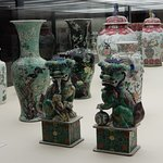 Chinese vases etc.