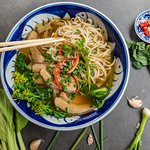 Hand pulled noodle soup