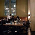 Tables and bank pillars