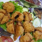 Udang Wotiap (Shrimp Ball with Chicken Liver)
