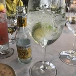 Gin and tonic (local gin) - tasty