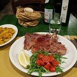 Bistecca di Scottona con peperoni in padella