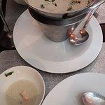 potage lait de coco
