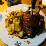 The pork knuckle was perfection