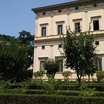 Exterior of the Villa Farnesina in Rome