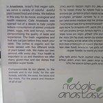 Anastasia Cafe Foto