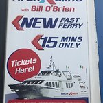 What the other company boat look like. Don't book with Doolin2Aran! Slow cramped boats.