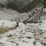 snow on dead womans pass