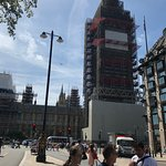 Under scaffolding through 2018