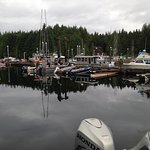 Boats available for rent and charter at the marina.
