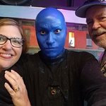 Foto van Blue Man Group