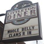 Littleton diner sign