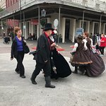 Characters in Costume at Dickens on the Strand, December - Galveston, TX