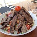 Beef teriyaki, Azur restaurant