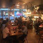 Nice atmosphere at Saranda bar and grill in harrogate