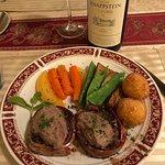 Tournedos Rossini......delicious.