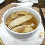 Man Ho x J's Garden mushroom dinner