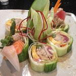 Specialty cucumber roll