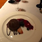 Chocolate Mousse with 10 year Port wine