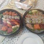 sushi/sashimi platters