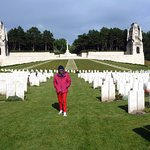 Etaples-sur-Mer: Le cimetière militaire britannique.