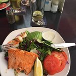 Yesterday August 18, 2018 we visited again for lunch and salmon salad and seafood salad were ver