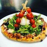 Notre création PIZZ'Brochette Tomate Mozza DI BUFALA
