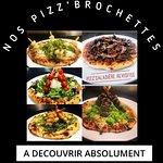 """Notre création originale pizza et mini brochettes, """""""" PIZZ'Brochette"""""""""""