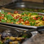 Lunch buffet, where price meets quality