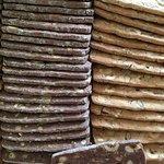 Biscotti cioccolato, nocciole e canditi