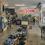 Inside the Shop on the First Floor of the Big John Headquarters Building