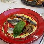 Sardines and Mackerel starter