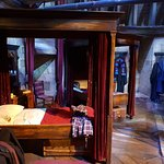 Harry Potter Studio Tour - Gryffindor boys bedroom