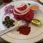 Rindfleisch tatar