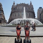 Best time ever - Genoa Old City Center by Segway so rocks!!