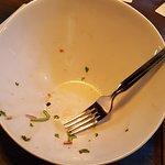 89 Greens salad gone ! :)