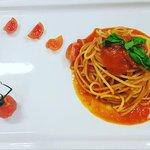 Spaghettino pomodoro e basilico
