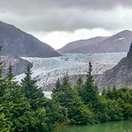 Mendenhall glacier after whale watching