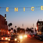 We are just down the street from the iconic Venice lights!