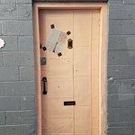 The Pink Door on Post Street.