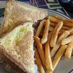 Monte Cristo sandwich with fries