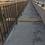 Board for base jumpers on the Perrine Bridge