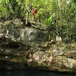 Salto desde la roca. Hay que hacerlo!!!