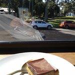 Front Room Hervey Bay vegan dessert treat. Yum.