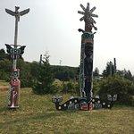 Beautiful totem poles!