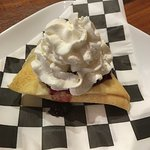 "The blueberry ""crepe"""
