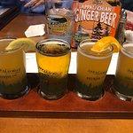 Sample flight - beers chosen by customer