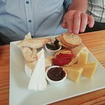 Cheese board, not even on menu!